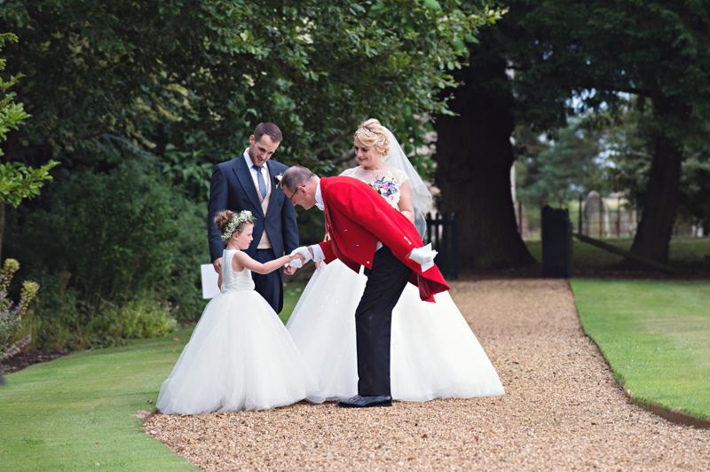 Welcoming Bridesmaid Elsie